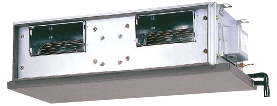 Ceiling-Concealed Type, R410A, FDMQN Series <br><a class=&quot;test1234&quot; target=&quot;_blank&quot; href=&quot;http://www.daikinindia.com/system/files_force/Download%20Brochure/Catalogue_23.pdf?download=1&amp;download=1&quot;>(Download Brochure)</a>